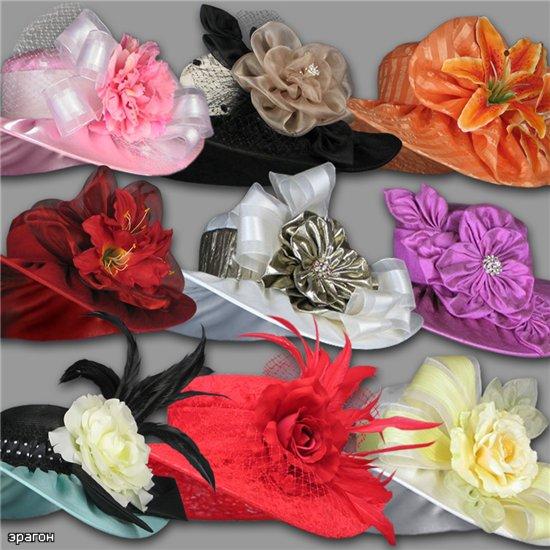 Как сделать цветочки для шляпы