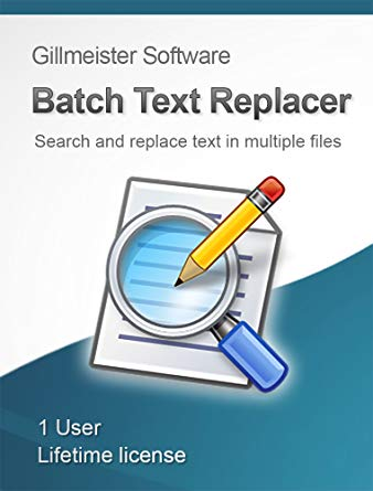 Gillmeister Batch Text Replacer 2.13.0 + Rus