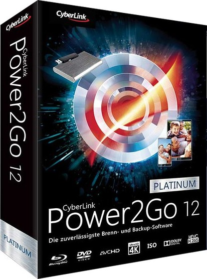 CyberLink Power2Go Platinum 12