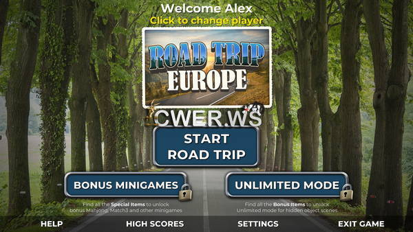 скриншот игры Road Trip Europe: A Classic Hidden Object Game