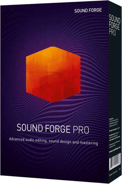 MAGIX Sound Forge Pro 15