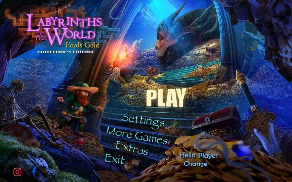 Labyrinths of the World 10: Fools Gold Collector's Edition